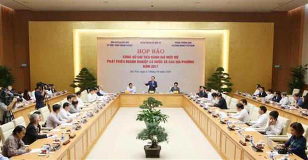 越南首次公布企业发展水平评估指标体系 hinh anh 2