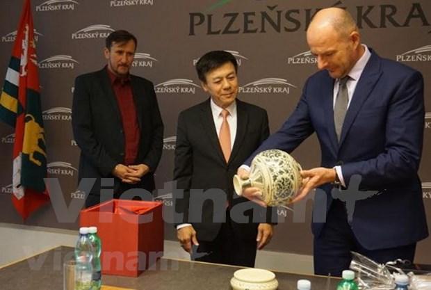 越南与捷克易研讨会——两国企业经贸合作平台 hinh anh 1
