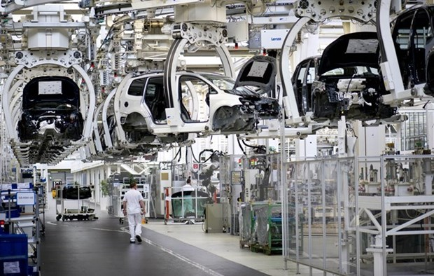 越南汽车零部件出口额逾32亿美元 hinh anh 1