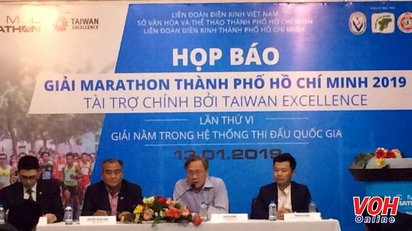 8000余名运动员将参加2019年第六次胡志明市马拉松赛 hinh anh 1