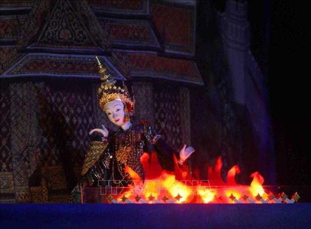 宁平省举行木偶戏表演活动 许多国际木偶剧团参加 hinh anh 1