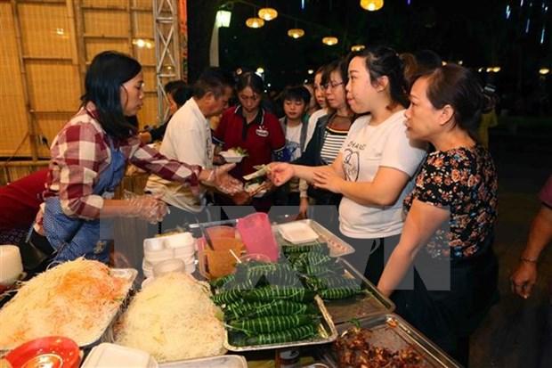2018年河内美食文化节吸引参观者人数达近7万人次 hinh anh 1