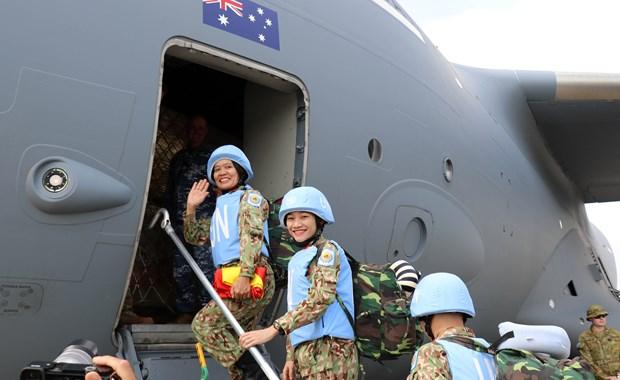 越南赴南苏丹维和二级野战医院第二批医疗队出征 hinh anh 1