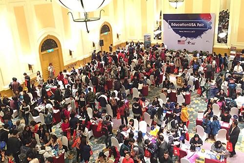 在美国就读的越南留学生 2.24万多名 hinh anh 1