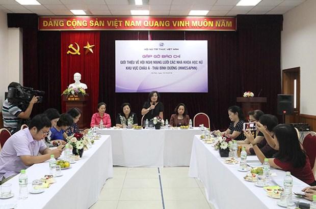 16个国家和地区的代表将出席2018年亚太女科学家网络会议 hinh anh 1