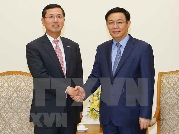 韩国新韩金融集团集中发展越南金融科技 hinh anh 1
