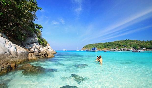 美丽的富国岛海星滩 hinh anh 2
