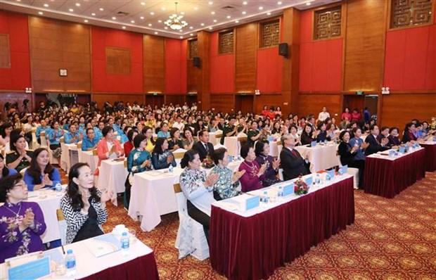 越南妇女奖颁奖仪式在河内举行 15个优秀个人和集体获奖 hinh anh 2