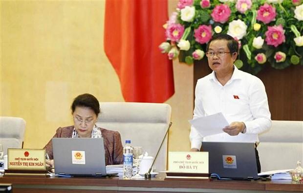 第十四届国会常委会第28次会议:加强社会舆论关注的热点问题的宣传报道工作 hinh anh 1