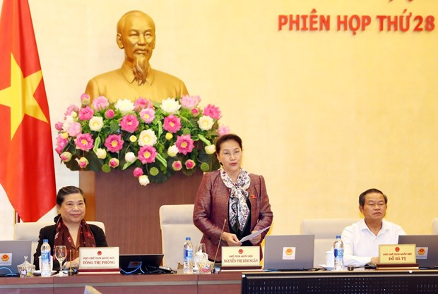 越南第十四届国会常委会第28次会议圆满落幕 hinh anh 1