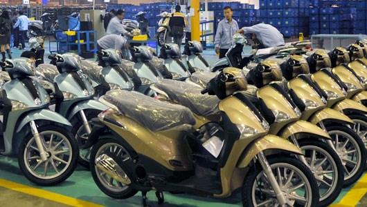 2018年越南摩托车销量有望打破2017年的销售记录 hinh anh 1