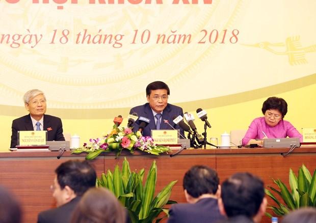 第十四届国会第六次会议将选举产生国家主席和批准CPTPP hinh anh 1
