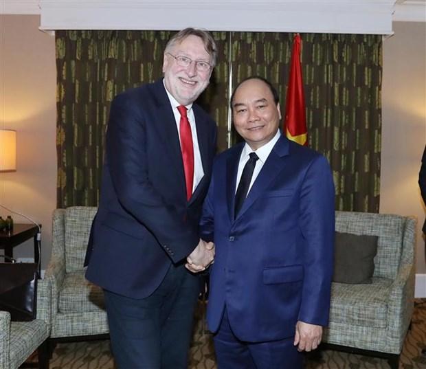 越南政府总理阮春福对欧盟进行工作访问:欧洲委员会通过EVFTA hinh anh 1