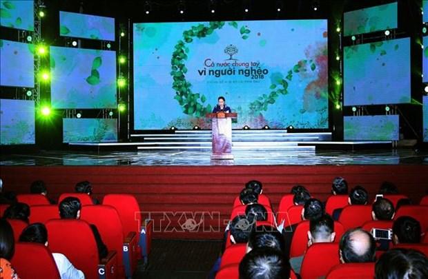 越南国会主席:为实现可持续减贫需主动创新和筹集更多资源 hinh anh 1