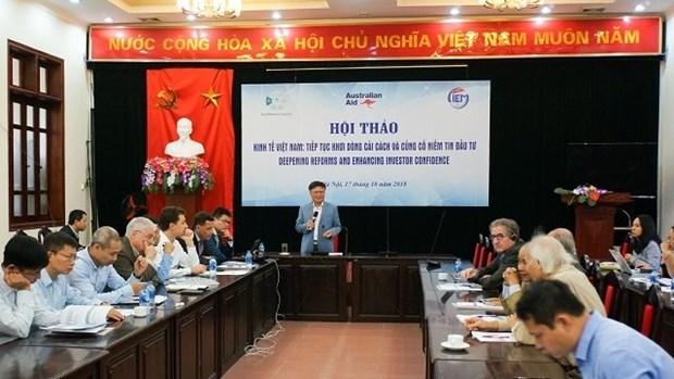 越南经济:继续革新和巩固投资者信心 hinh anh 1