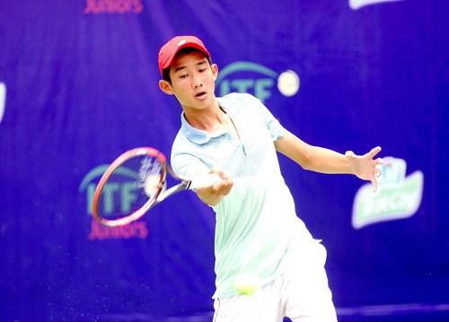 2018年世界超级青少年网球锦标赛:阮文方晋级男双1/4决赛 hinh anh 1