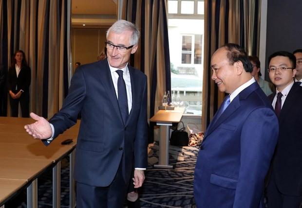 越南各地与比利时法兰德斯大区保持密切合作共同推进可持续发展 hinh anh 1
