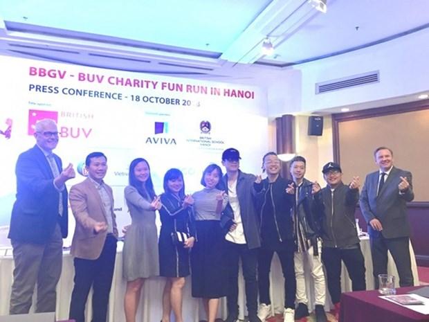 英国驻越大使将参加2018年慈善欢乐跑活动 hinh anh 1