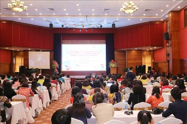 2018年亚太女性科学家网络体系会议:强化女性科学家在社会经济发展中的作用 hinh anh 1