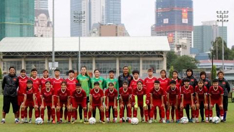 2019年亚洲U19女足锦标赛预选赛E组比赛在越南举行 hinh anh 1