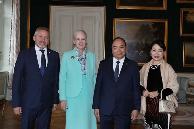 政府总理阮春福出席P4G峰会期间举行的各项活动 hinh anh 1