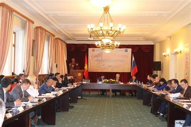 越南与欧亚经济联盟合作前景仍然广阔 hinh anh 1
