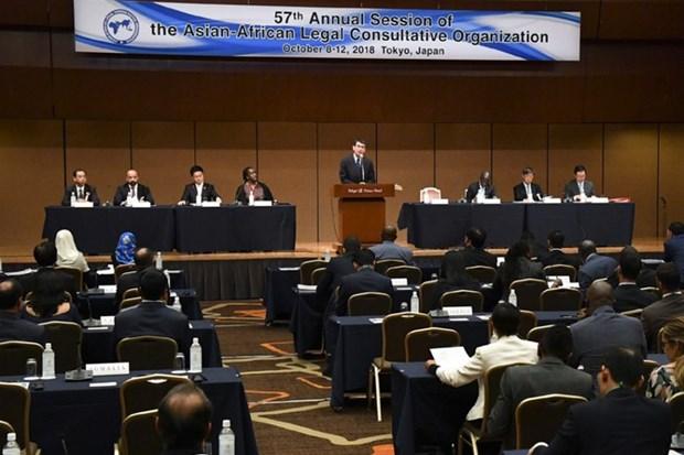 越南在亚非法律协商组织第57次年度会议上积极建言献策 hinh anh 1