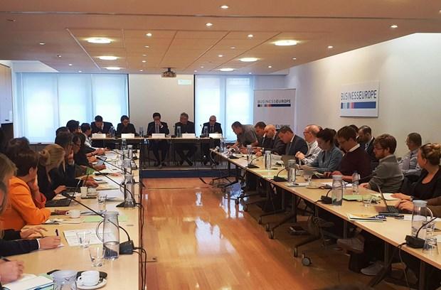 欧洲企业:EVFTA帮助越南提高竞争力 hinh anh 1