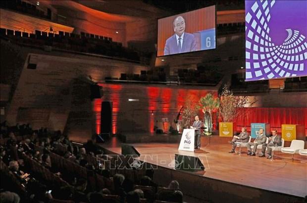 阮春福出访欧洲:提升越南与欧盟各伙伴的关系 hinh anh 2