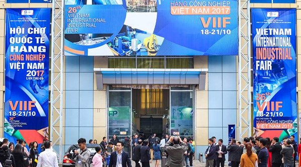 2018年越南河内国际工程机械与工业展览会将于本月底举行 hinh anh 1