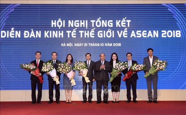 阮春福总理:有效开展WEF ASEAN 2018的成果 服务于国家发展事业 hinh anh 1