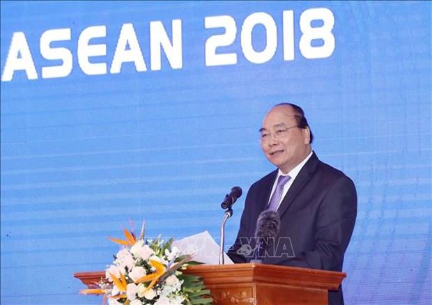 阮春福总理:有效开展WEF ASEAN 2018的成果 服务于国家发展事业 hinh anh 2