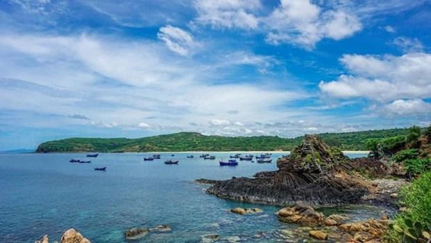 富安省国家名胜区-石盘礁附近的新景点迎客 hinh anh 1