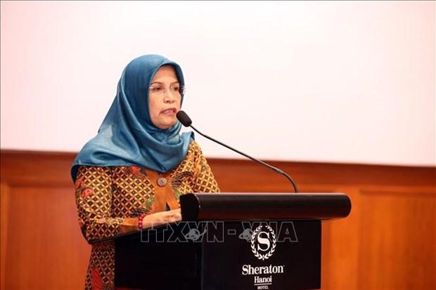 东盟促进和保护妇女和儿童权利委员会召开第17次会议 hinh anh 1