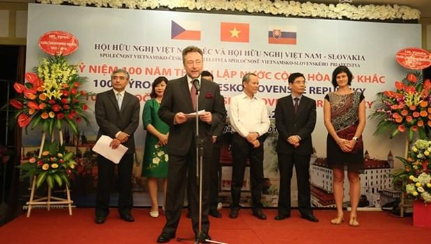 捷克共和国成立100周年纪念活动在河内举行 hinh anh 1