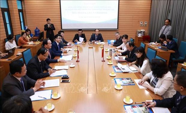 河内与中国上海分享人民议会运作经验 hinh anh 1