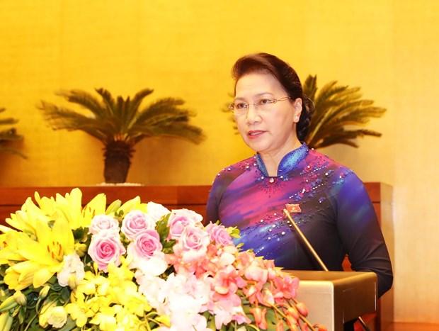 越南第十四届国会第六次会议隆重开幕 hinh anh 1