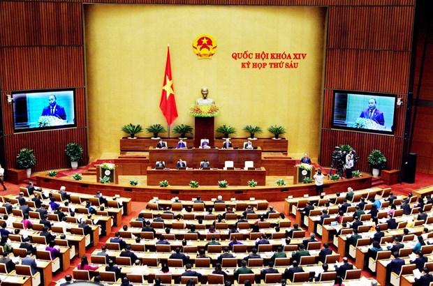 越南第十四届国会第六次会议隆重开幕 hinh anh 2