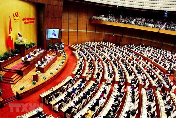 第十四届国会第六次会议:提请国会审议许多重大问题 hinh anh 1
