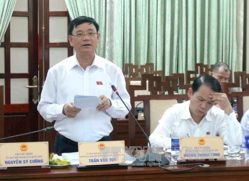 越南国会信任投票受到全国选民的特别关注 hinh anh 2
