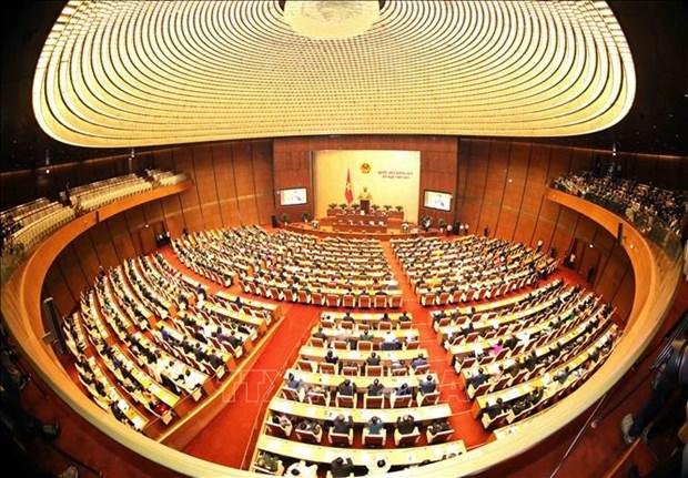 国会今日选举产生国家主席 hinh anh 1
