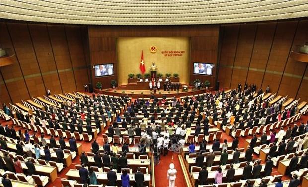 越南国会代表对推荐阮富仲总书记供国会选举国家主席达成高度共识 hinh anh 1