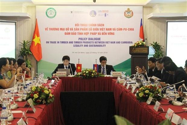 越南与柬埔寨就木材贸易政策进行对话 hinh anh 2