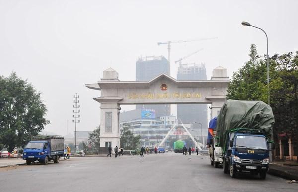 老街省发展口岸经济 hinh anh 1