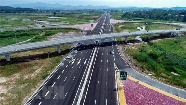 广宁省努力加快下龙-云屯高速公路项目施工进度 hinh anh 1