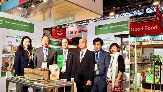 河内贸易总公司在巴黎国际食品展成功签订多项农产品出口合同 hinh anh 1