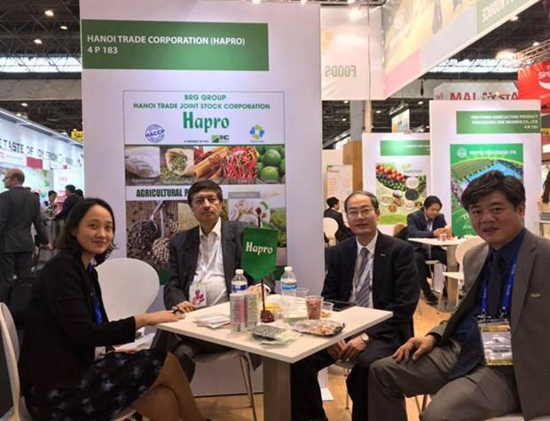 河内贸易总公司在巴黎国际食品展成功签订多项农产品出口合同 hinh anh 2