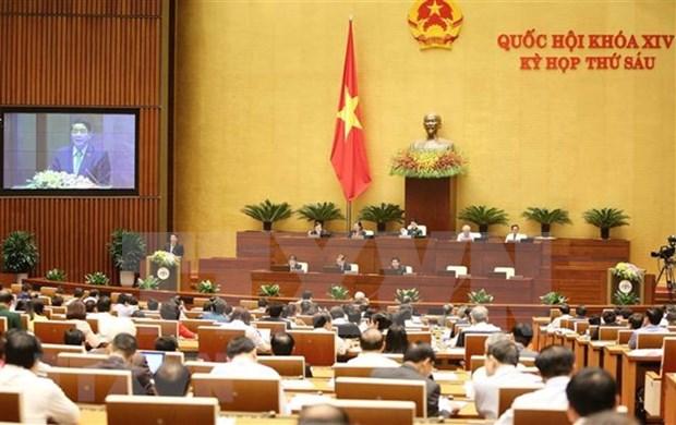越南国会第六次会议:通过接受投信任票的领导人名单 hinh anh 1