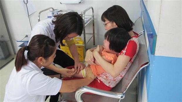 麻疹风疹联合疫苗补充免疫接种儿童数量将达428万名 hinh anh 1