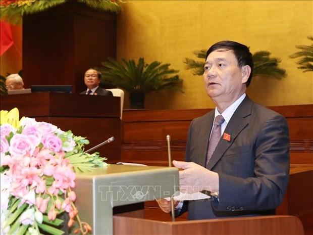 国会通过接受投信任票的48名领导人名单 hinh anh 1